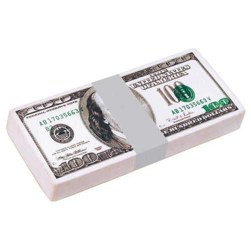 $100 Dollar Bill Stack Squeezies