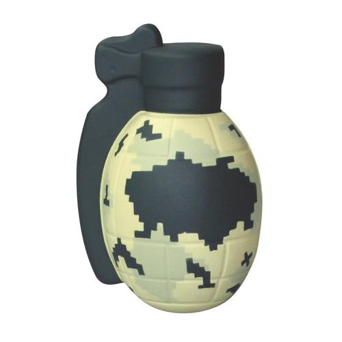 Digital Camo Grenade Squeezies