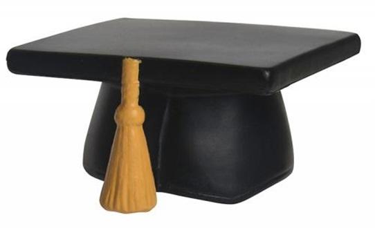 graduation distract stress ball