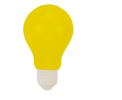 What better way to encourage ideation than with a light bulb stress ball?