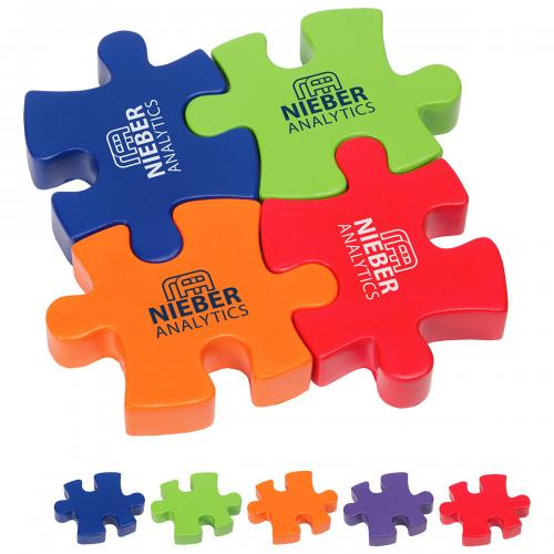 4-Piece Connecting Puzzle Set