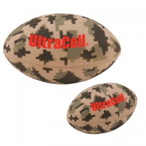 "5"" DIGITAL CAMO FOOTBALL STRESS RELIEVER"