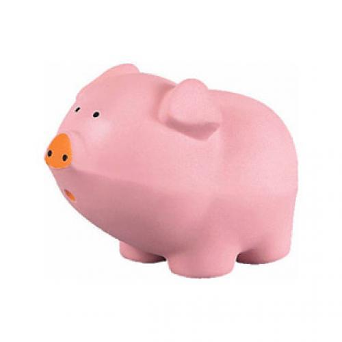 CARTOON PIG STRESS BALL