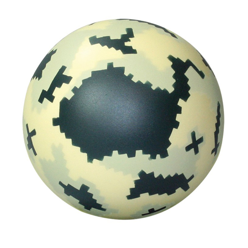 Digital Camo Ball Squeezies