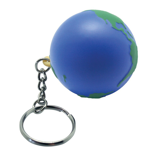 Earth Keyring Squeezies