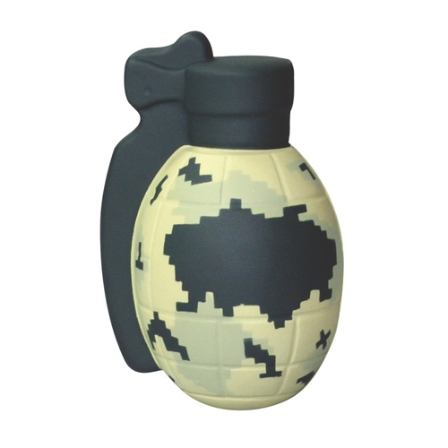 Digital Camo Grenade Stress Reliever