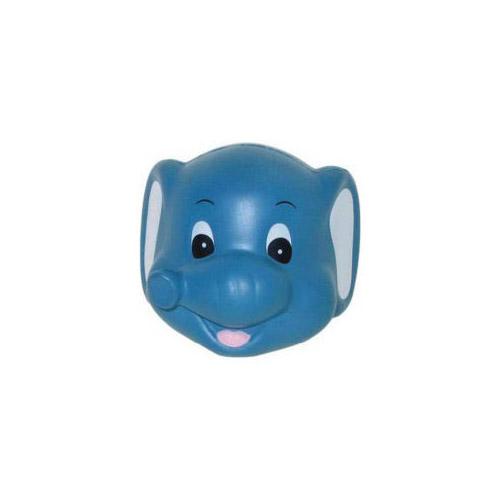 ELEPHANT FUNNY FACE STRESS BALL