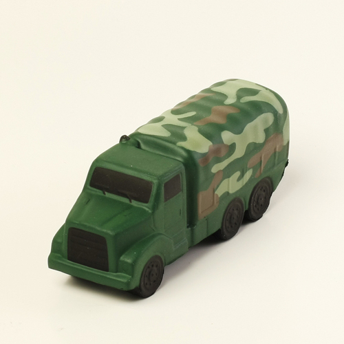 Camouflage Military Truck