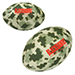 Camo/Digi Camo Football Stress Reliever - 3 1/2