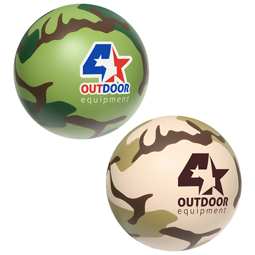 CAMOUFLAGE STRESS BALL